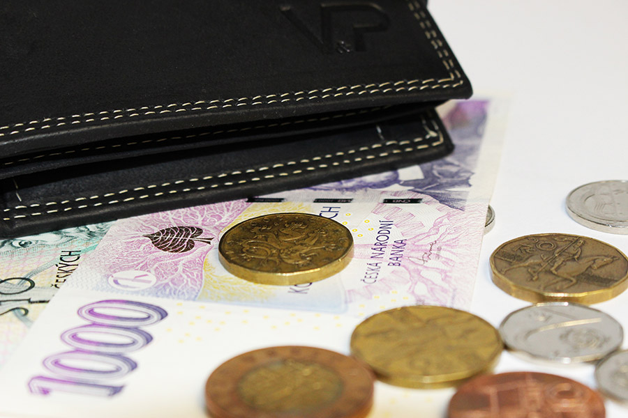 Peníze, peníze, peněženka …
